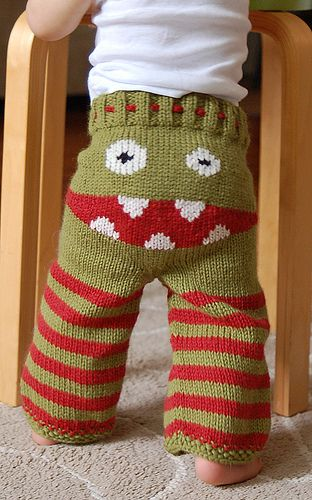 Too bad none of my kids are small enough to force them into pants like these.  Although one of them may do it by choice.