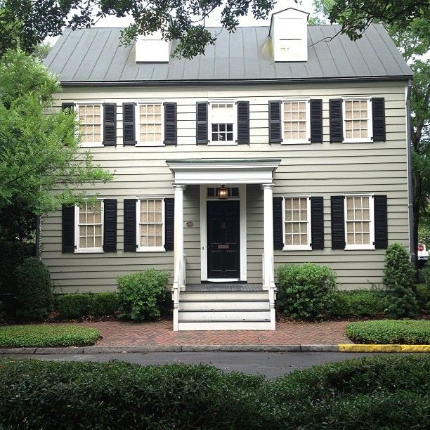 Spencer Woodbridge House Built Circa 1790 O Visit Savannah