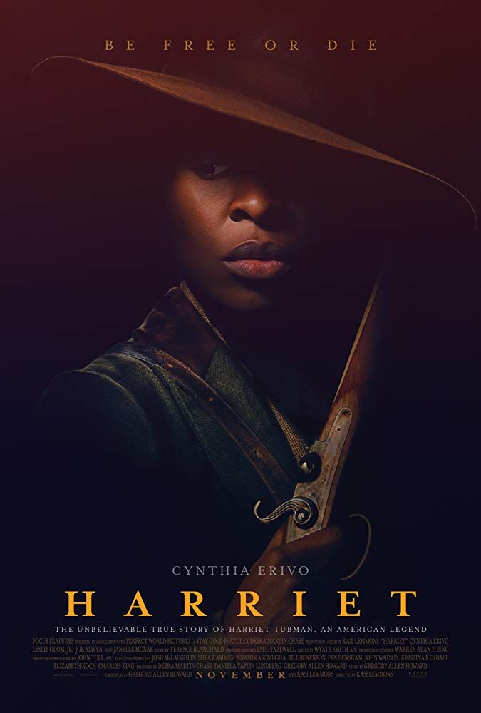 Harriet 2019 Harriet Tubman Full Movies Cynthia Erivo