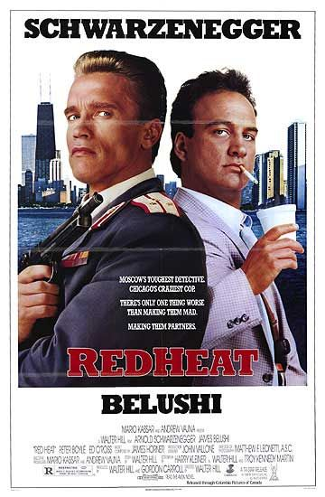 RED HEAT POSTER (1988)