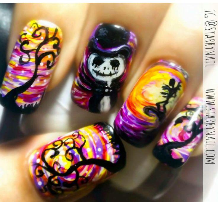 100 best Halloween Nail art images on Pinterest   Halloween nails ...