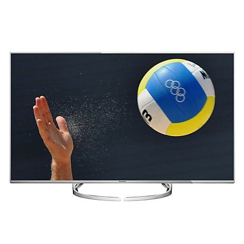 """Buy Panasonic Viera 58DX750B LED HDR 4K Ultra HD 3D Smart TV, 58"""" With Freeview Play/freetime & Art Of Interior Switch Design Online at johnlewis.com"""