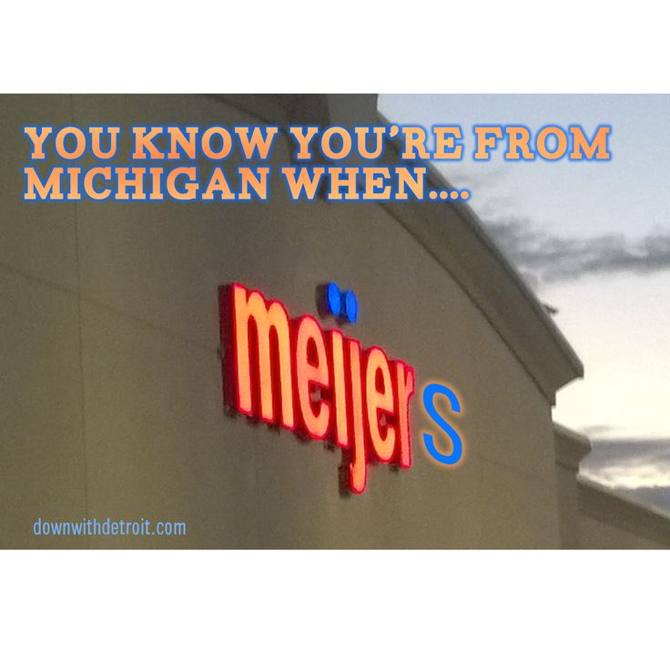 Share this with someone who shops at Meijer(s).  20% off 3 or more shirts ends tomorrow! www.downwithdetroit.com