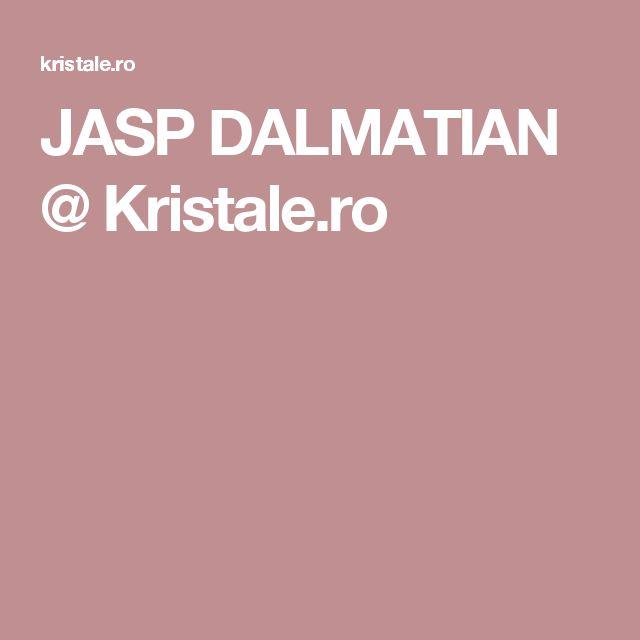 JASP DALMATIAN @ Kristale.ro