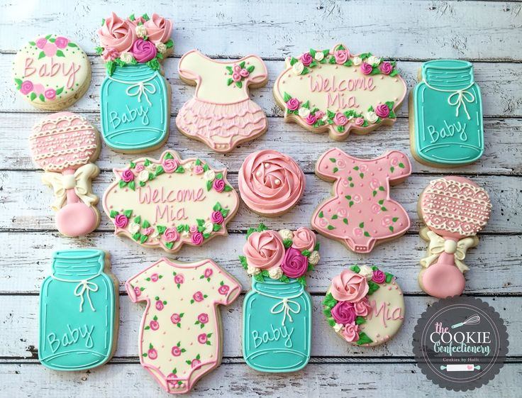 best the cookie confectionery  cookie creations by holli, Baby shower invitation