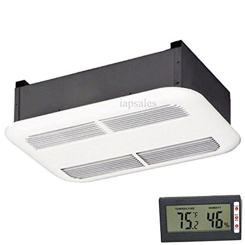 Bathroom ceiling heater with a free thermometer bundle - Ceiling mounted bathroom heaters ...