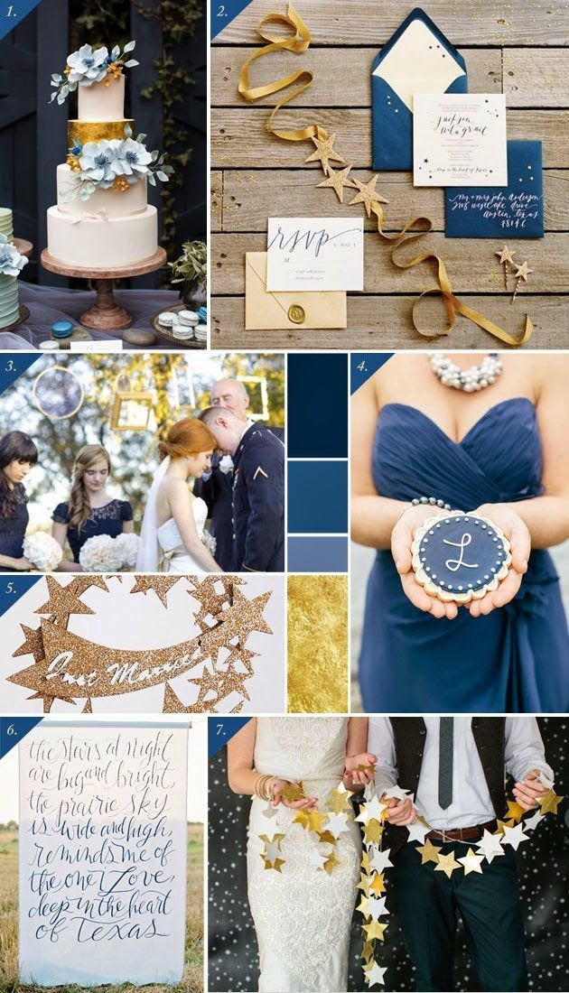 A Starry Night Theme Wedding | http://simpleweddingstuff.blogspot.com/2014/10/a-starry-night-theme-wedding.html