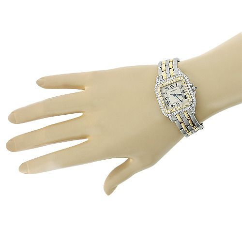 ladies-cartier-panthere-mini-18k-gold-steel-two-tone-vintage-diamond-watch-1ct #ohsoperfectproposal #engagement #ring #proposal #ido #marryme #diamond #bling #weddingring #engaged #💍 #ringbling #ringselfie #theknotrings #jewelrylover #diamonds #engagementphotos #proposals #18kgold #cartier #tiffany #cartierlove #brides #happilyeverafter #xoxo #ringbox #fiancé #jewelleryoftheday #newyork #symphonygirl #daydate #rolex #rolexwatch #rolexdaydate #rosegold #oro #bracelet #bracelets #gold…