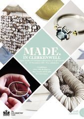 Once again, Craft Central removes the hassle from Christmas shopping with its annual Made in Clerkenwell Christmas event. From 26th – 29th November, shoppers will have the opportunity to discover the very best handmade gifts, many of which are made in the heart of Clerkenwell.