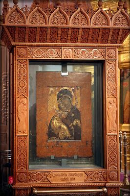 Short Facts about the Icon of the Mother of God of Vladimir #orthodox #orthodoxy #orthodoxchurch #church #icon #iconography #orthodoxicon #MotheOfGodOfVladimir #MotherOfGod #Theotokos #CatalogOfGoodDeeds