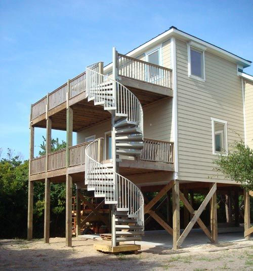 Best 2 Story Spiral Stair By The Iron Shop Escaleras 640 x 480