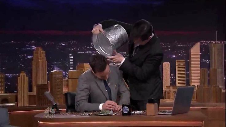 This totally makes me regret not watching The Tonight Show with Jimmy Fallon last night!  The Tonight Show w/ Jimmy Fallon- $100 Bets are Paid. Celebrity Cameos.