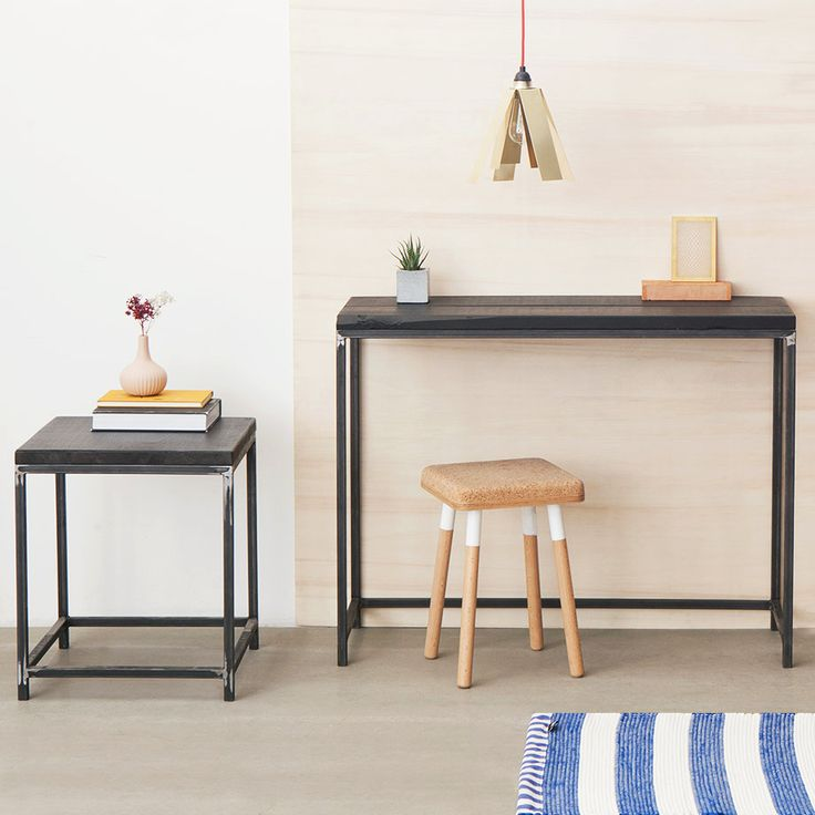 Custom-Made Tables with a Raw Edge by Industrial Berlin for MONOQI
