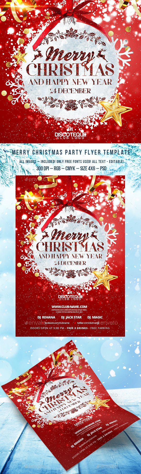 The 25+ best Free christmas flyer templates ideas on Pinterest ...