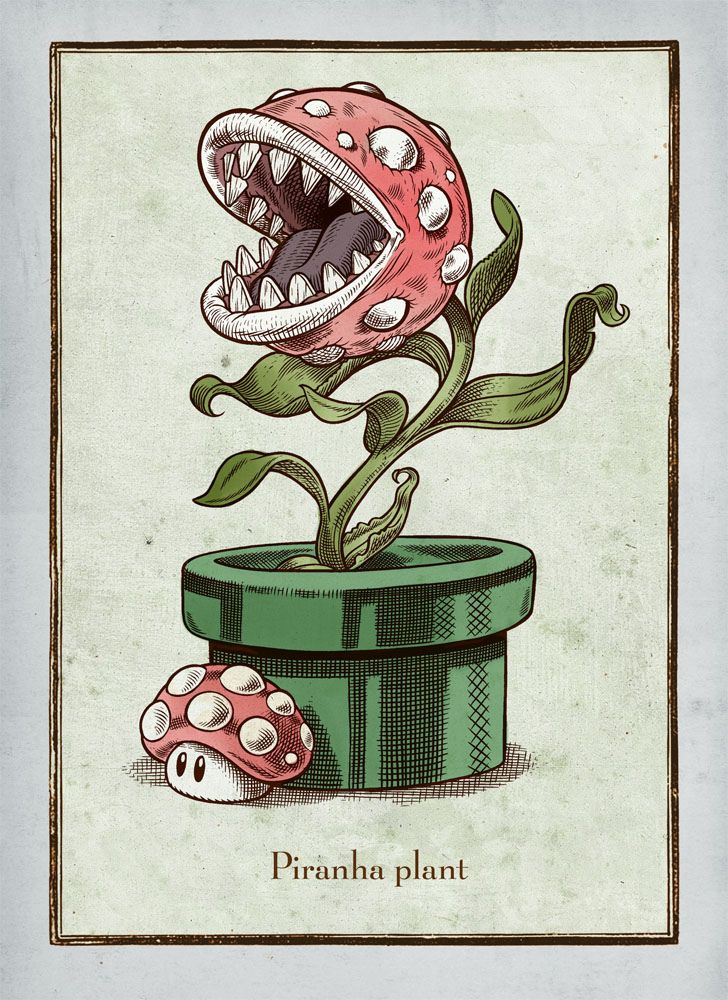 Piranha Plant by BlackYard