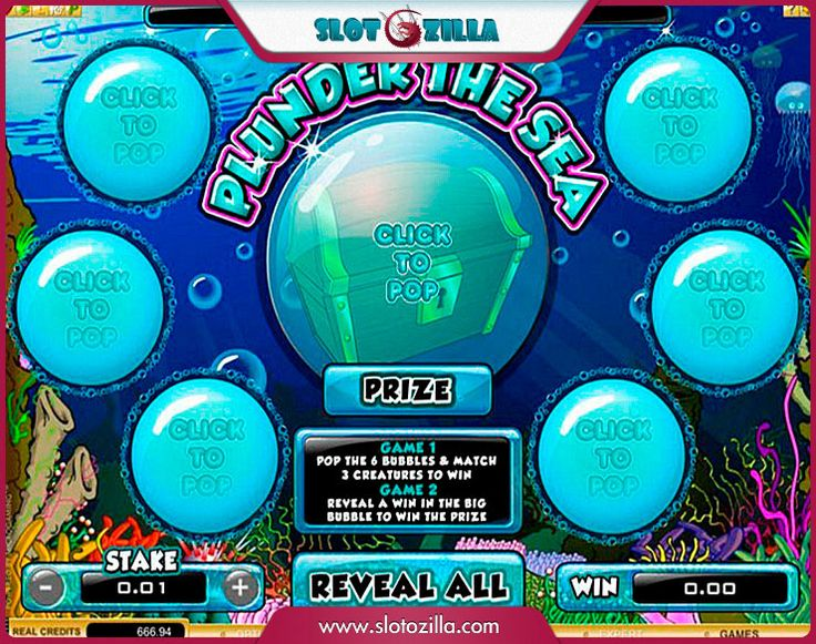 Plunder The Sea free #slot_machine #game presented by www.Slotozilla.com - World's biggest source of #free_slots where you can play slots for fun, free of charge, instantly online (no download or registration required) . So, spin some reels at Slotozilla! Plunder The Sea slots direct link: http://www.slotozilla.com/free-slots/plunder-sea