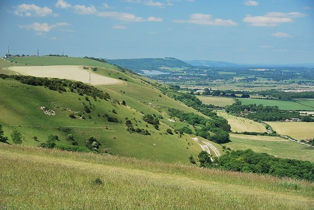 The South Downs, Brighton, England