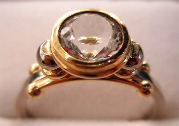 Rings - Sweetie Ring by Phill Mason - jeweller - Tasmanian artist