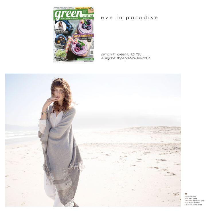 green LIFESTYLE Magazin 05/2016 - #eveinparadise #Bluse Celine #sommermode