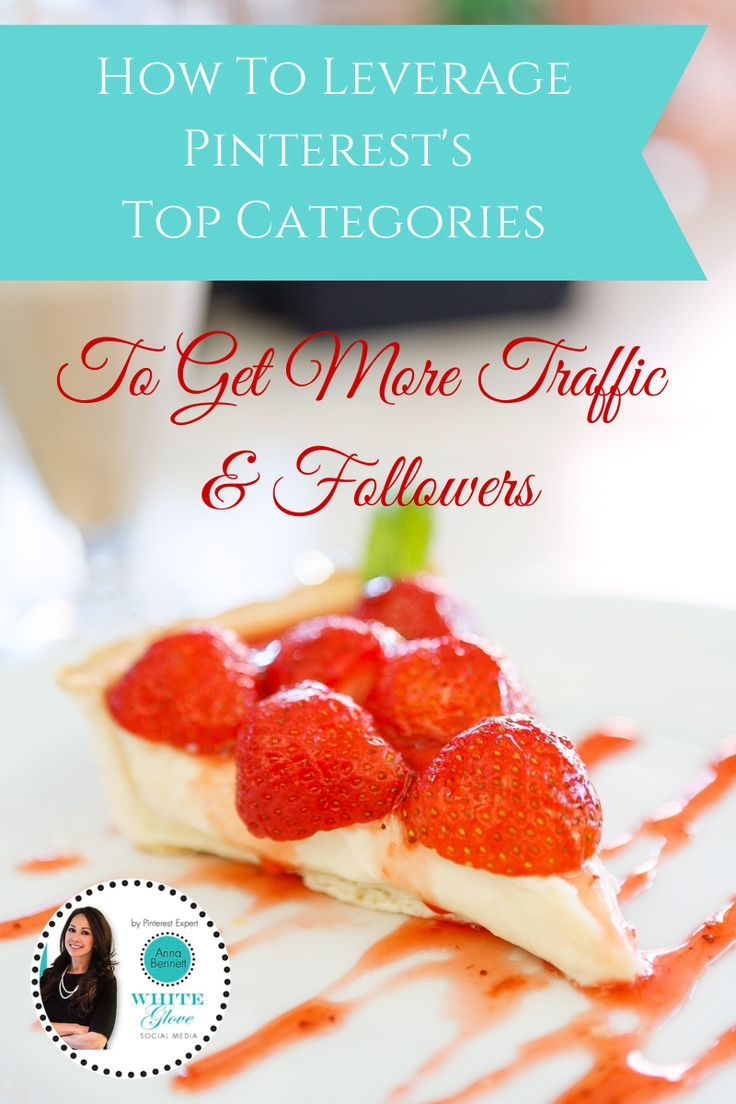 How To Leverage Pinterest's Top Categories To Get More Traffic & Followers (Based on Research). + CLICK HERE to learn how & what time of the day women start pinning certain categories.  #PinterestTips #PinterestForBusiness #PinterestMarketing