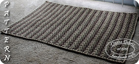 Ravelry: Willow Rug Pattern pattern by Amber M.