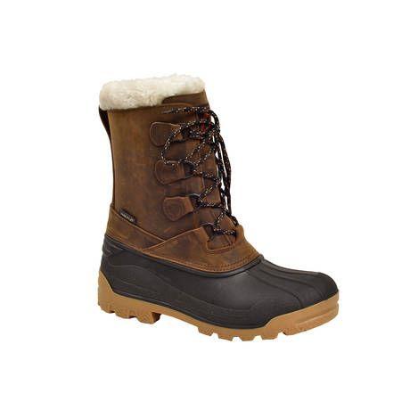 Tyylikkäissä Halti Villach II -kengissä on irrotettava sisäkenkä aitoa villaa sekä pitävä kuminen ulkopohja. (134,95€) #Halti #Snowboot