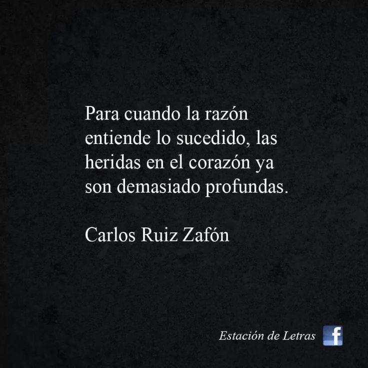 Carlos Ruíz Zafón.