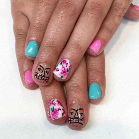 Best 25 hawaiian nail art ideas on pinterest tropical nail art best 20 beautiful hawaiian nail art prinsesfo Gallery