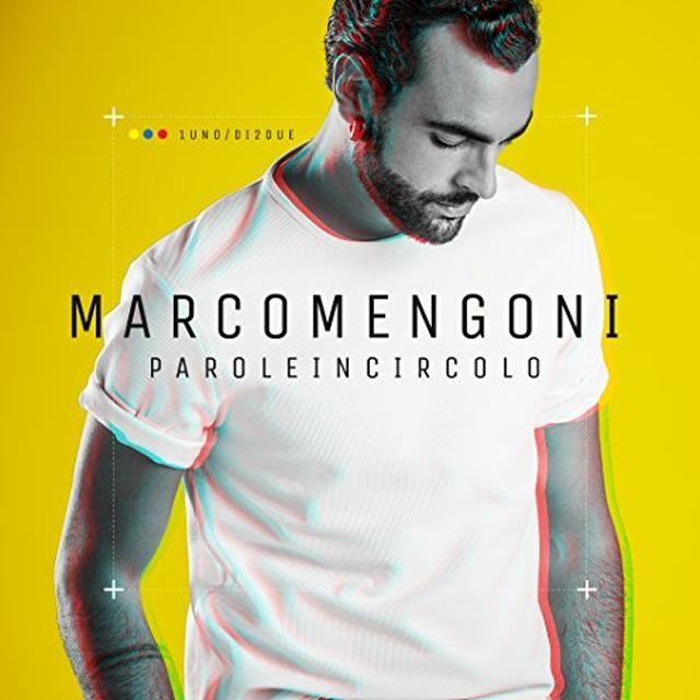 Marco Mengoni PAROLE IN CIRCOLO Vinyl Record - Italy Import