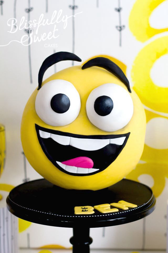 Happy face emoticon