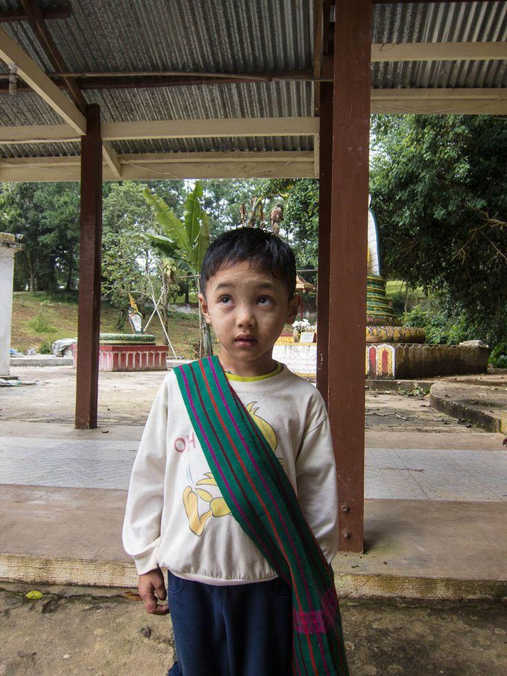 This cutie followed us around Kalaw, Burma