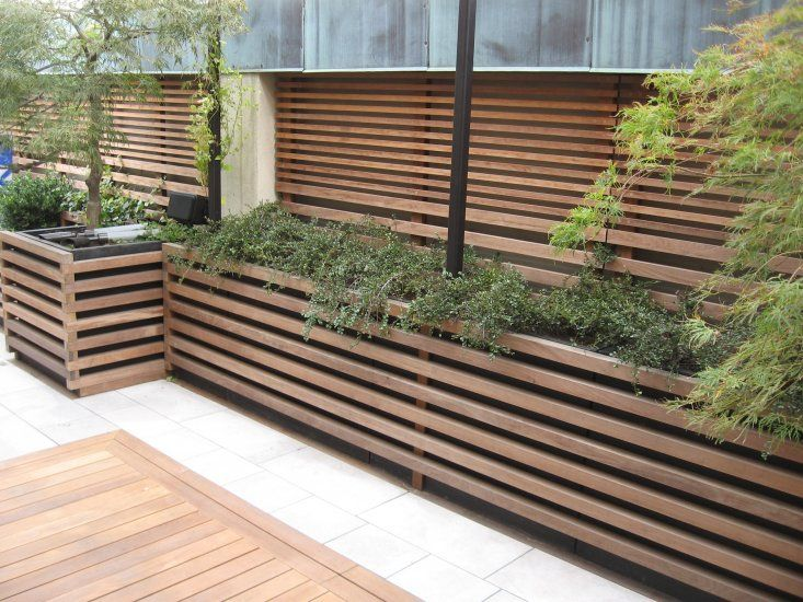 DECKING fence - Google Search