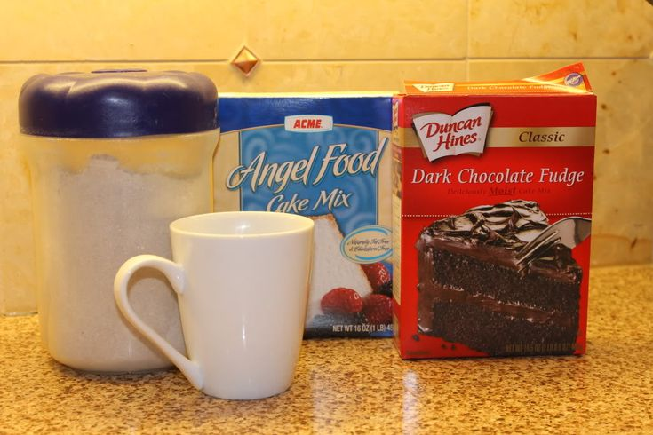 Magic Mug Cake Mix: 366 Days of Pinterest