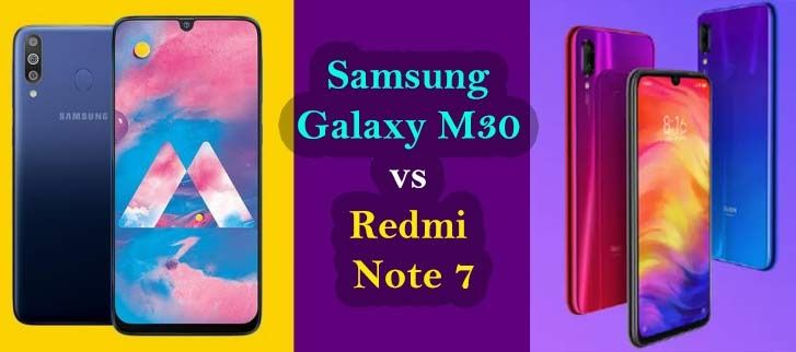 Compare Samsung Galaxy M30 Vs Xiaomi Redmi Note 7 Pro Samsung Galaxy Samsung Galaxy