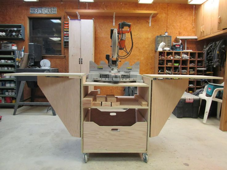 Perfect DIY Miter Saw Stand