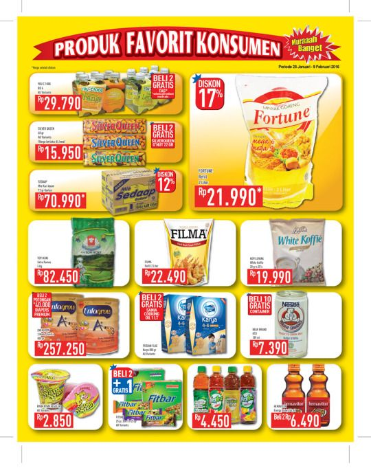 Tumblr | Katalog Promo Hypermart  http://doctor-burke.tumblr.com/post/138098520196/katalog-promo-hypermart-weekend