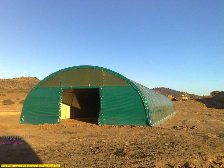 """Greenfield Chile: Hangares Prefabricados """"Nuestra principal características es la simplicidad de montaje y desmontaje"""". http://www.revistatecnicosmineros.com/greenfield-chile-ha…/…"""