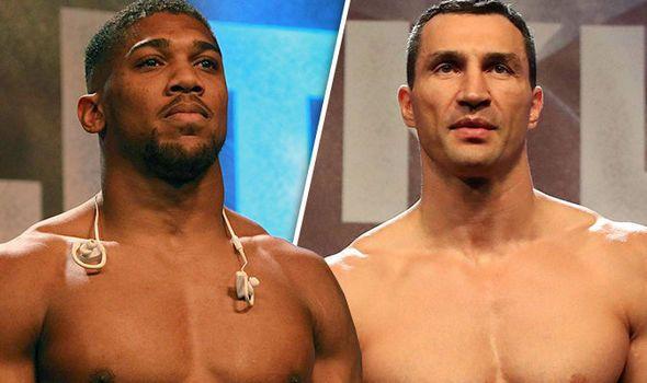 Anthony Joshua v Wladimir Klitschko LIVE: Follow the action from Wembley PLUS undercards