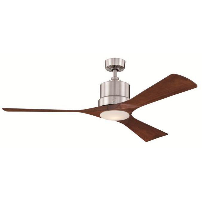 mid century modern ceiling fan wood