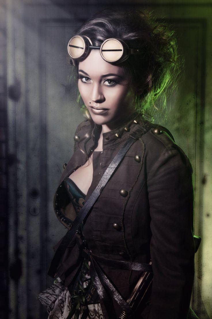 Steam Girl by AAlsina.deviantart.com