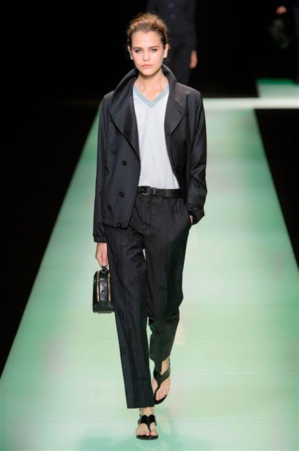 EMPORIO ARMANI, Sfilate • Milano Moda Uomo S/S 2016