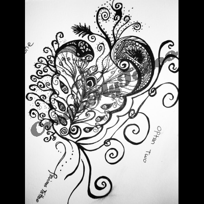 Paisley Feather