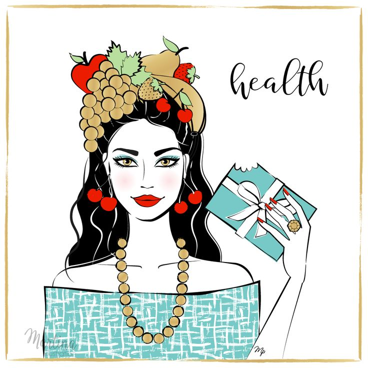 Stylish Advent Calendar DAY 11   I wish you HEALTH  The first wealth. The most important thing ever. Have a plenty of it, and take good care of it. Let your mind, body and spirit be in balance and enjoy it fully!  Fashion illustration