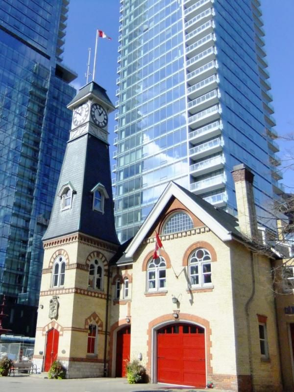 #Yorkville Fire Hall 34 Yorkville Avenue-love this little Fire Hall<3 Right next to our building.