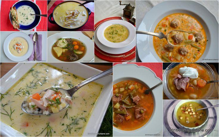 10 retete de ciorba si supa pentru iarna. Supe si ciorbe gustoase si sanatoase pentru sezonul rece, preparate din ingrediente naturale: carne de pui, vita