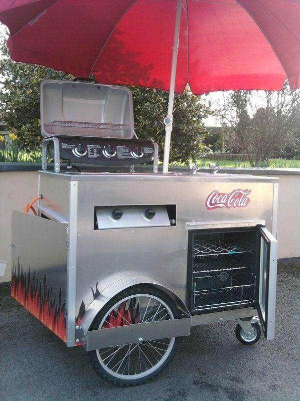 bike food cart - Google Search