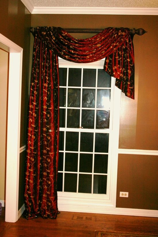99 Best Images About Scarf Swag Curtains Top Treatments On Pinterest Design Firms Best