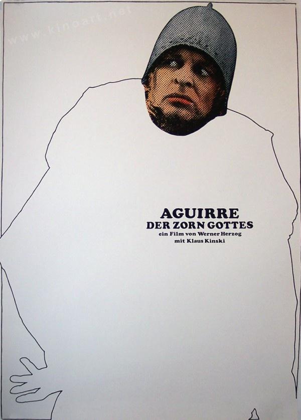 Aguirre, the Wrath of God (Werner Herzog, 1972) German design