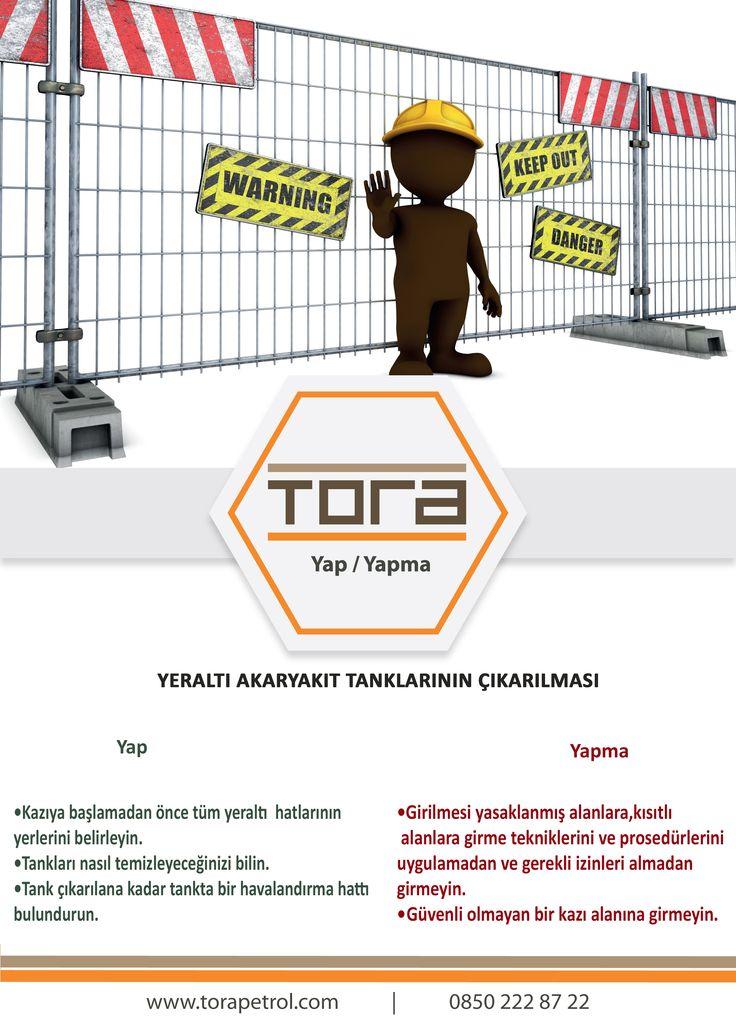 Yeraltı akaryakıt tanklarının çıkarılması sırasında dikkat edilmesi gerekenler: #yapyapma