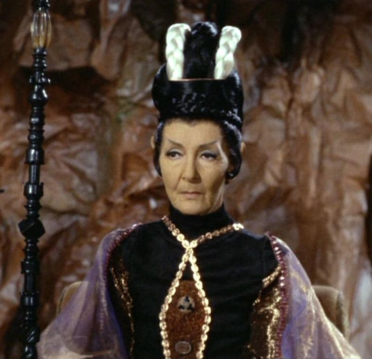 Celia Lovsky plays T'Pau leader of the Vulcans in the 1967 Season 2 Episode 'Amok Time'. The episode is important to the Star Trek mythos as this is the first time we visit Spock's home world. The Viennese actress was married to Peter Lorre and key in getting him the role in a Fritz Lang's 'M'